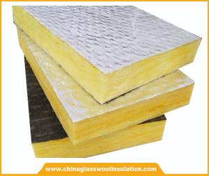 Glass wool board fibre glass wool china glass wool for Glass fiber board insulation