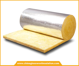 ISOKING TM Glass Wool Insulation Blanket with Aluminum Foil Facing