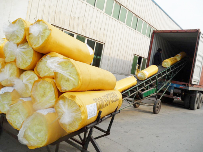 Glass Wool Glass Wool Insulation Blanket With Aluminum