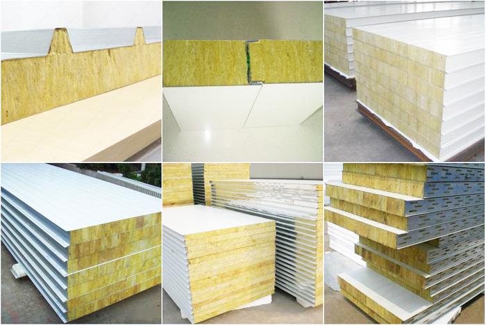 Rockwool sandwich panel roofing panels roofing insulation for Rockwool insulation panels