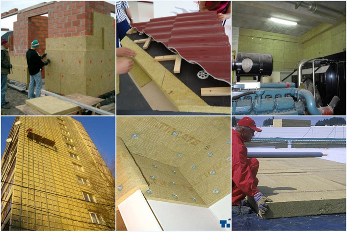 Rock wool board rock mineral wool insulation rock wool for Rockwool insulation properties